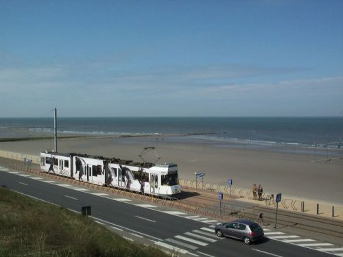 Belgium's unique coastal tram