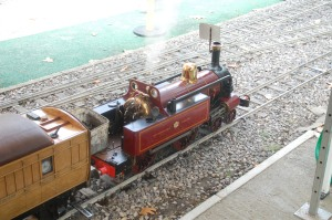 Mini Metropolitan Railway steam engine