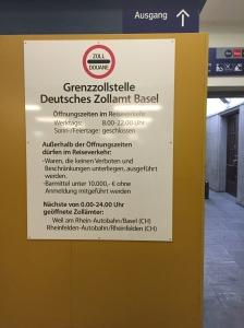 Basel Badischer's customs post