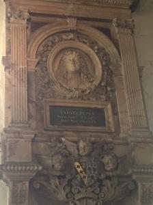 Pepys's memorial